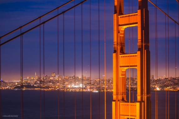 Golden Gate and SF